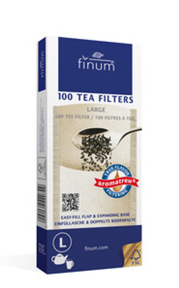 Hē Chá Tea: Large Tea Filters - Box of 100