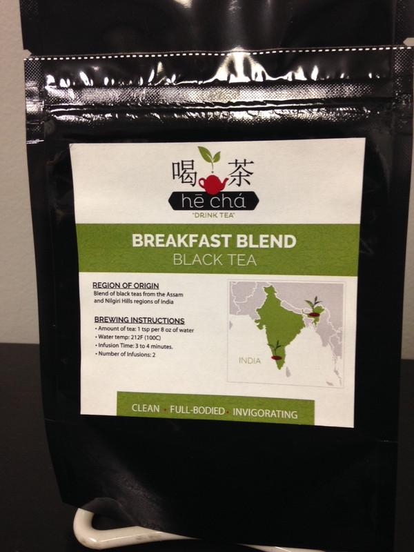 Hē Chá Breakfast Tea - 1.5 oz Retail Pouch