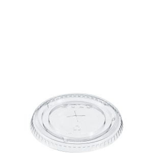 SOLO FLAT LID with STRAW SLOT (for COLD Cup)