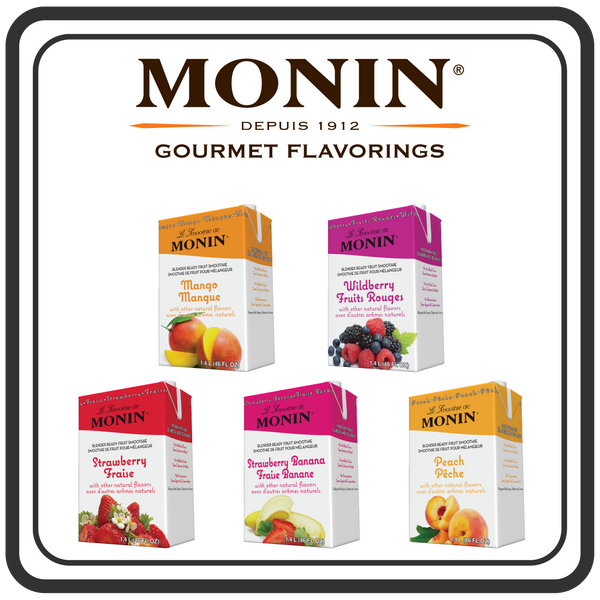 Monin Fruit Smoothies