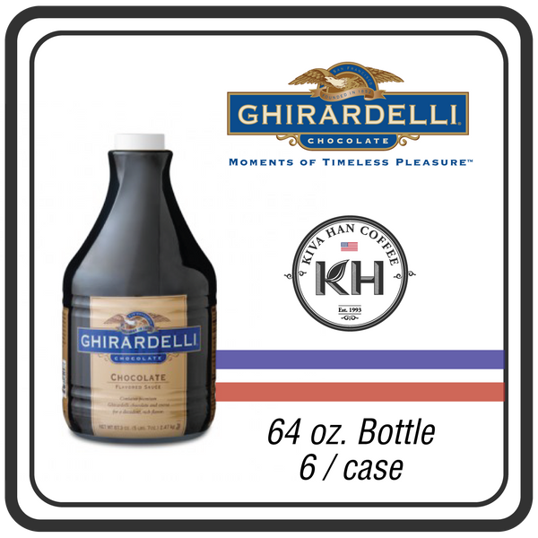 Ghirardelli Sauce - Black Label Chocolate