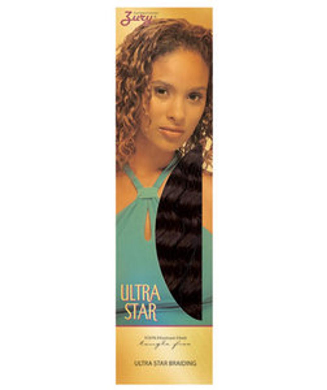 Zury Ultra Star 100% Human braiding Hair