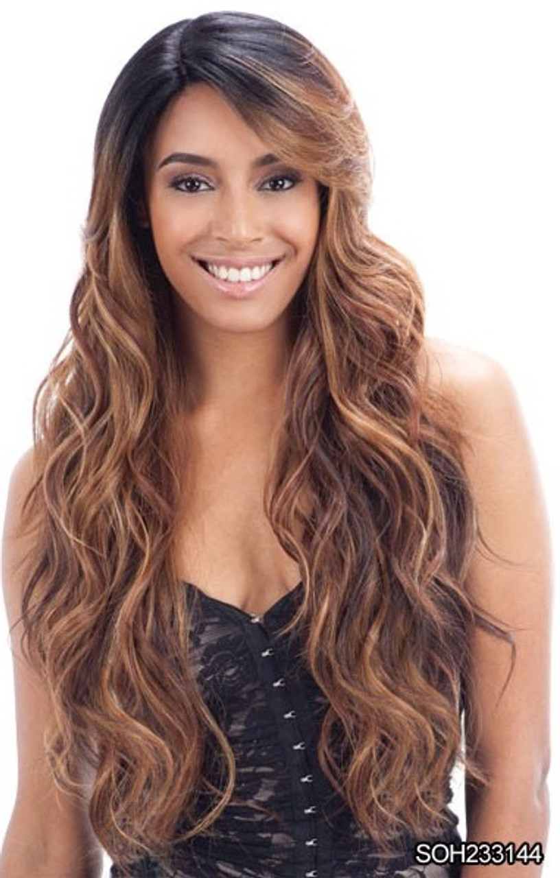 FreeTress Equal Deep Invisible Part Lace Wig - SUZIE