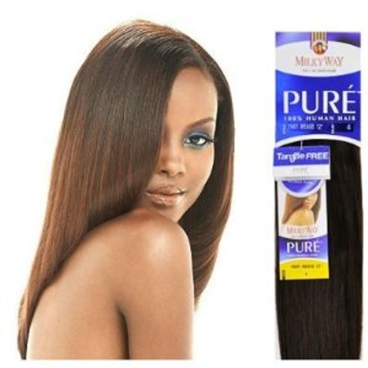 Shake-N-Go Milky Way 100% Human Hair Weave - INDIAN