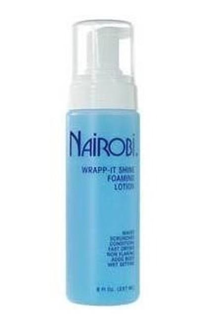 Nairobi wrapp-it shine foaming lotion 8oz