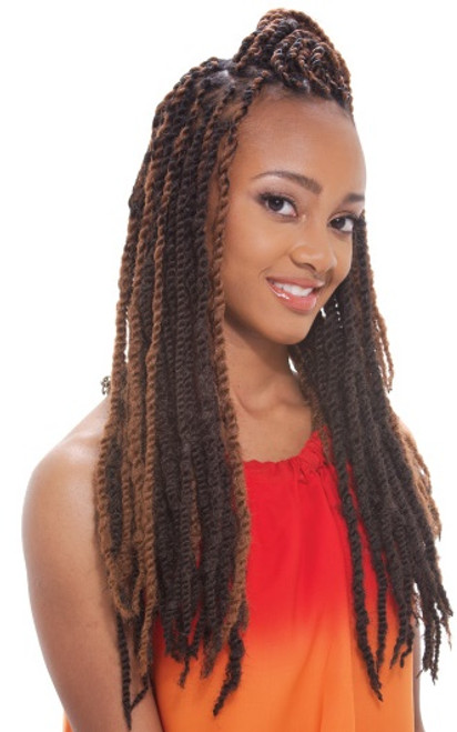 Synthetic Hair Braids Janet Collection Noir Afro Twist Braid Top