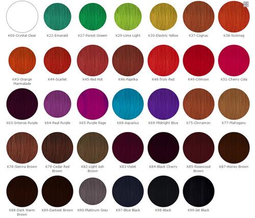 Kiss Express Color Semi Permanent Hair Color 3 5oz