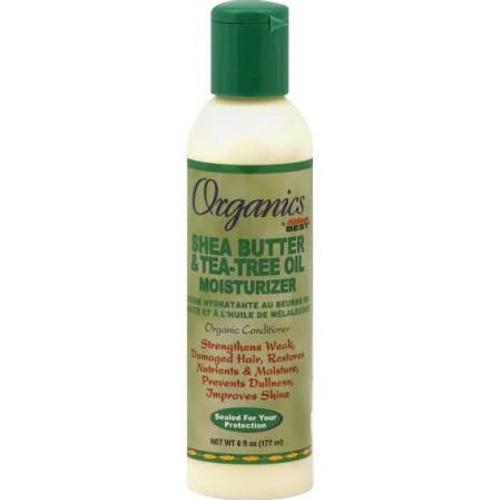 Africa S Best Organics Shea Butter Tea Tree Oil Moisturizer 6oz