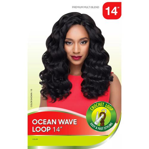 Outre X Pression Crochet Braid Ocean Wave Loop 14 Inch