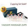 Hansol Bu-Hang Korean Plastic Cupping Set of 10