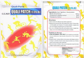 Quali Patch Cold