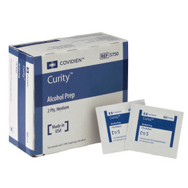 Alcohol Prep Pads Medium Size