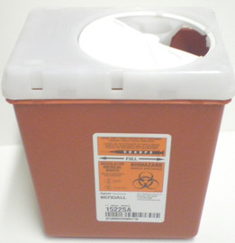 3 Quart Sharps Container