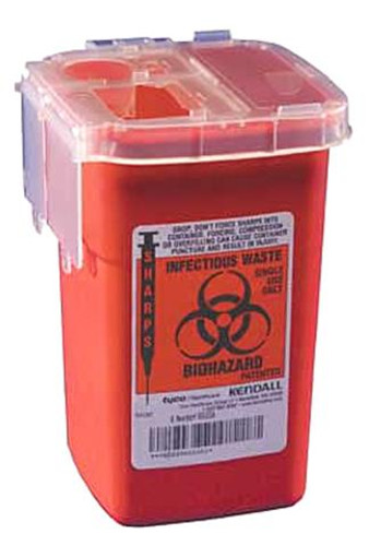 Monoject Sharps Container 1Qt. 100 pcs.