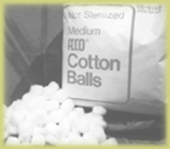 Medium Size Cotton Balls 2000 pieces bag