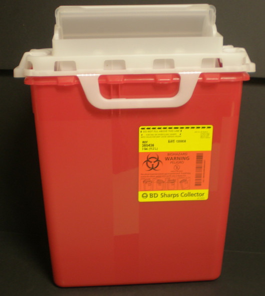 """3 Gallon """"Monoject"""" Sharps Containers"""