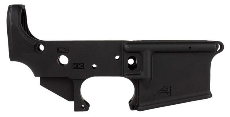 Aero Precision AR-15 Stripped Lower Receiver, Gen 2 - Anodized Black - 815421020373