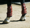 Majyk Leather/Buckle Tendon Jumping Boots with Removable Liner