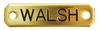 Walsh Signature Dog Collar
