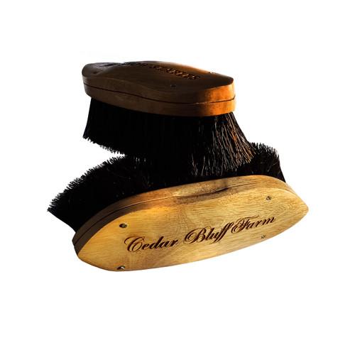 Soft Black Horsehair Brush