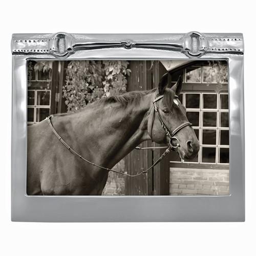 Mariposa Horse Bit Frame 5 x 7 (Engravable)