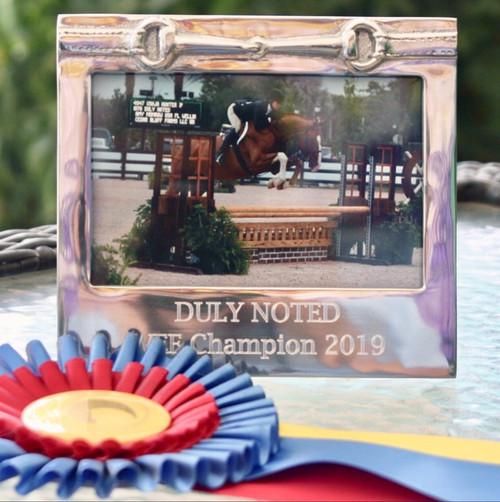 Mariposa Horse Bit Frame 4 x 6 (Engravable)