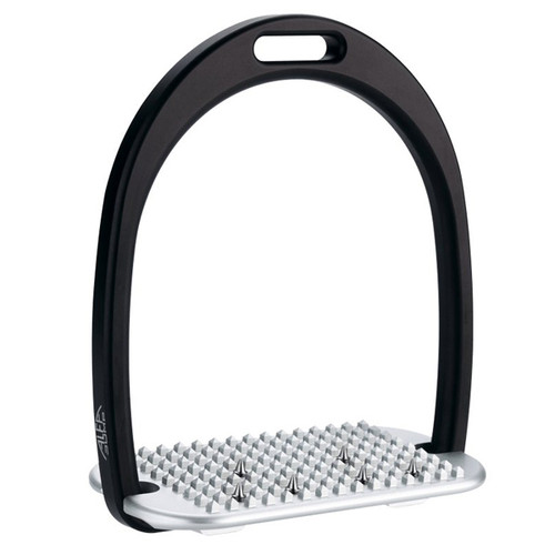 Alfa Jump Stirrups with Inclined-Spiked Soleplate