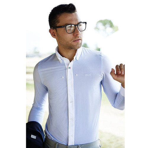 For Horses Adriano Button Down Long Sleeve Show Shirt