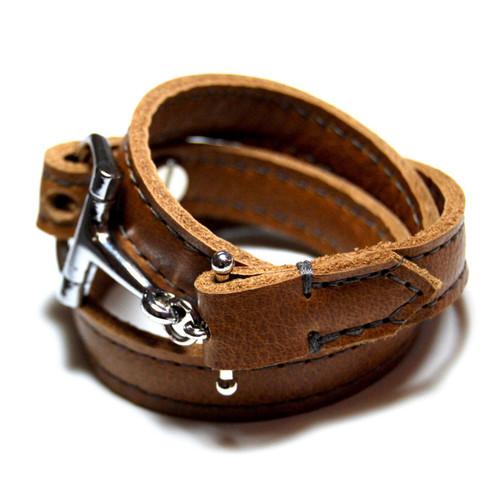 Percheron Leather Wrap