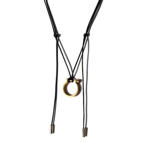 Lusitano Stirrup Pendant - Gold