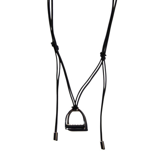 Prussian Leather Necklace