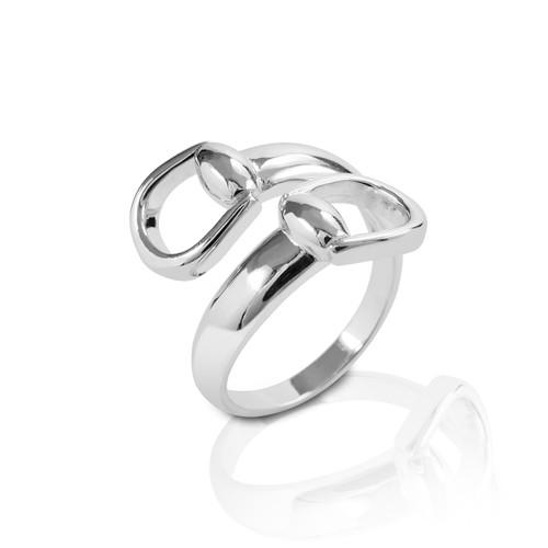 Kelly Herd New Bit Ring  - Sterling Silver