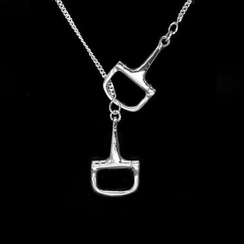 Dee Bit Lariat Horse Necklace