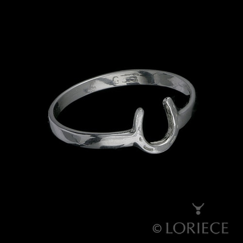 Tiny Horseshoe Ring