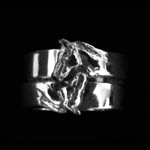 Stacking Horse Head Ring Set