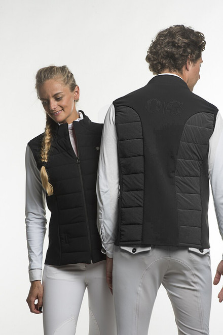 "Oscar & Gabrielle ""Kloe"" Zip In  Women's Airbag Sleeveless Down Jacket by Freejump"