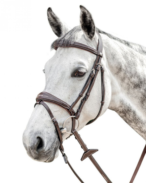 Prestige English Bridle with Stitching: E141