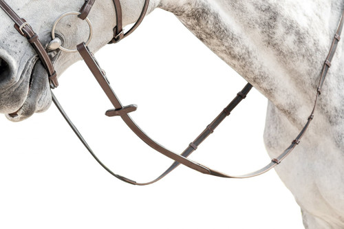 Prestige Ultra-thin Rubber Reins with 6 Stoppers: E32A