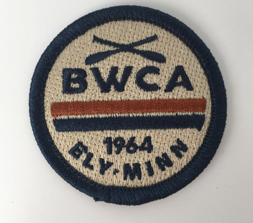 Patch -  Mini BWCA 1964 Ely Minn Round Patch -
