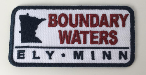 Patch  - Mini Boundary Waters, Ely Minn Rectangle Patch -