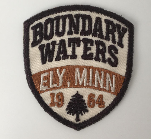 Patch - Mini Boundary Waters Ely Minn Shield Patch -