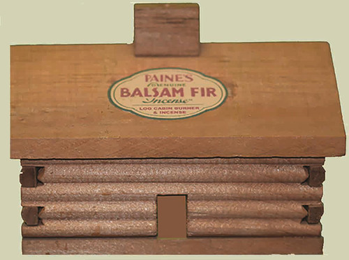 Paine's Log Cabin Burner & Balsma Fir Incense - 400000211671