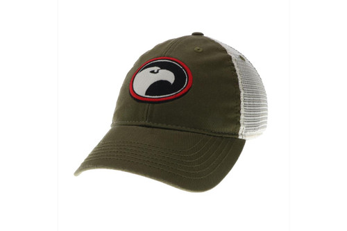 Spirit of the Wilderness Trucker Hat - Olive - 190136607584