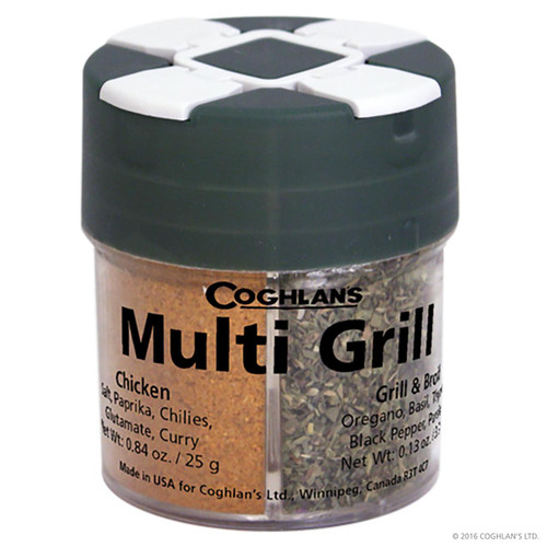 Coghlan's Multi Grill Spices & Container -