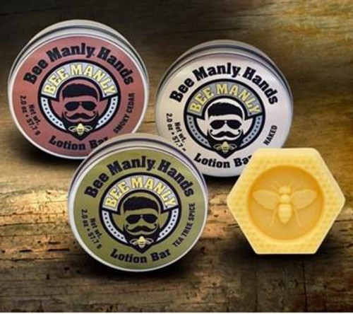 Honey House Naturals Bee Manly Hand Lotion - 857392005331
