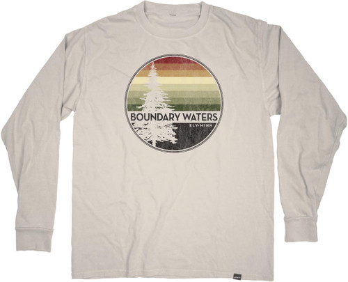 Boundary Waters Radical Round Long Sleeved T-shirt - 610926811064
