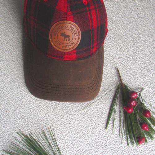 Boundary Waters Buffalo Plaid Hat - 190136448033