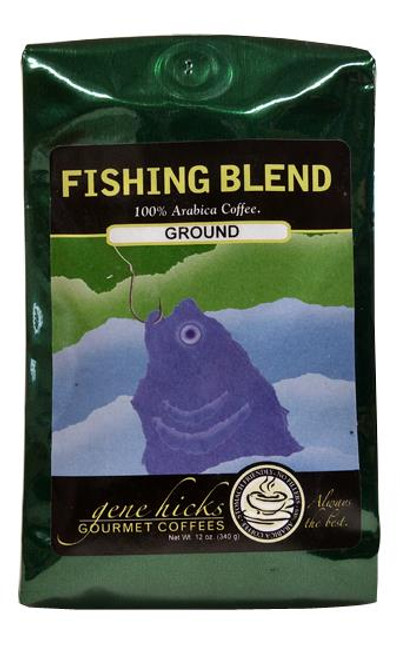 Gene Hicks Coffee Fishing Blend / Ground - 12oz bag - 751339060677