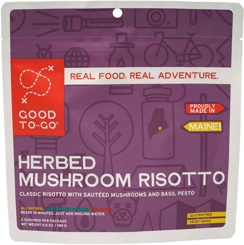 Good To Go Food - Herb Mushroom Risotto / 2 servings - 855680005018