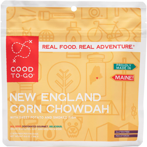 Good To Go food - New England Corn Chowdah / 2 servings - 855680005667